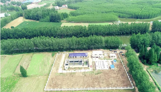 中交二航局首个污水处理厂正式投入运营