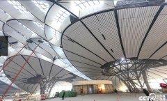 北京大兴国际机场航站楼基本完工
