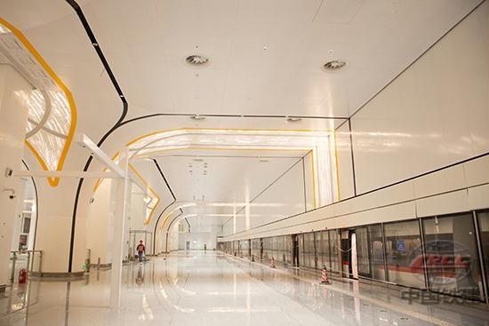 北京轨道交通新机场线开始试运行
