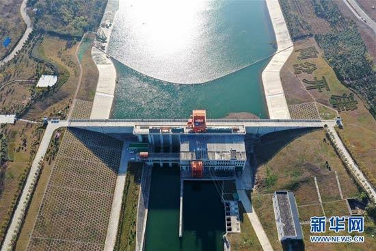 俯瞰南水北调中线工程渠首:一渠清水润京津